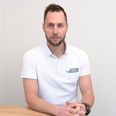 Fysiotherapeut Thijs van Bree